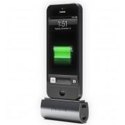 Phonesuit Flex Pocket Charger - външна батерия 2600 mAh с Lightning за iPhone 5, iPhone 5S, iPhone SE, iPhone 5C, iPod Touch 5 и iPod Nano 7 (черен)