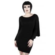 šaty dámské KILLSTAR - DRACUL MINI - BLACK - K-DRS-F-2793