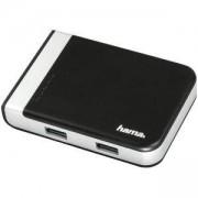 Четец за карти, 3 в 1, USB 3.1 Hub, SD/ SDHC/ SDXC, Черен, HAMA-54546