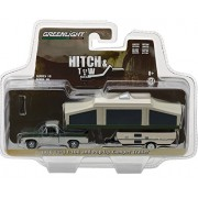 GREENLIGHT 1:64 HITCH & TOW SERIES 10 - 1970 FORD F-100 WITH POP-UP CAMPER 32100-B