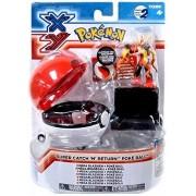 Pokemon Super Catch n Return Pokeball Mega Blaziken Figure Set