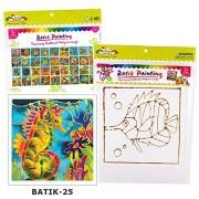 Yellow Bee Batik Painting Kit (Bt P1) 25 Sea Horse