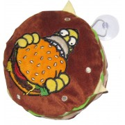 United Simpsons Mini Cushion With Suction Cup Burger 18 Cm