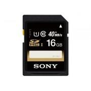 Sony SF16U - Carte mémoire flash - 16 Go - Class 10 - SDHC UHS-I - pour Handycam HDR-CX250E, HDR-PJ580V, HDR-PJ580VE