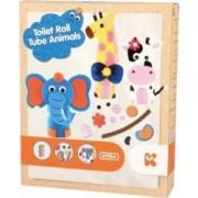 Set de creatie Keycraft Animalute haioase dimensiuni 22 cm Multicolor