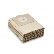 Set saci de filtru din hartie Karcher 69591300, 5 bucati, 2 straturi, Rezistenta mare la rupere, Compatibil aspiratoare Karcher