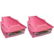 Atorakushon Satin Blouse Cover 2PC SBC2(Pink)