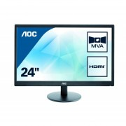 Monitor AOC 23.6 Full HD 5ms HDMI LED M2470SWH