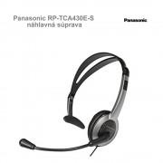 Panasonic RP-TCA430E-S náhlavná súprava