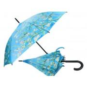 H.C.021-6805 Esernyő 100cm, Van Gogh: Mandulavirágzás