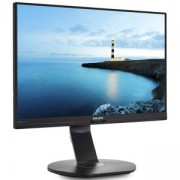 Монитор, Philips 240B7QPJE, 24 инча Wide IPS, LED, 5ms, Черен, 240B7QPJEB/00
