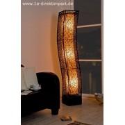 1a Direktimport XXL Stehlampe Rattanlampe Leuchte