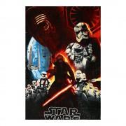Star Wars - 140X100 fekete pirossal gyerek takaró