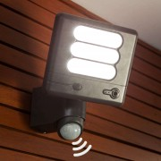 Esa Cam - LED wall light with security camera