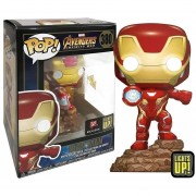 Iron man ligths up exclusivo funko pop