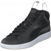 Puma Puma Smash V2 Mid Wtr L Puma Black-dark Shadow- White, Skor, Sneakers & Sportskor, Höga sneakers, Svart, Unisex, 44