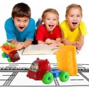 ER 11pcs/set Hijos únicos Niños Jugando En La Playa De Arena De Camiones Dragado Conjunto De Juguetes - Multicolor
