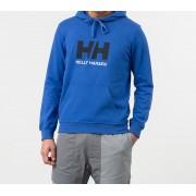 Helly Hansen Logo Hoodie Blue