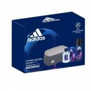 Adidas Cofanetto Victory Edition - Eau de toilette 50ml + deo spray + trousse