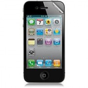 kwmobile Screen protector MATT and ANTI-GLARE resistant against finger prints for Apple iPhone 4 / 4S - PREMIUM QUALITY