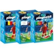 Playmobil Sports & Action : joueur de foot - Pack 3 joueurs