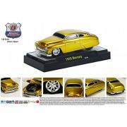 Castline M2 1949 Mercury Coupe, Gold - 81161/11B 1/64 Scale Diecast Model Toy Car