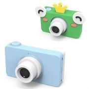 Mini HD Digitale Camera voor Kinderen D8 - 8MP - Blauw / Kikker