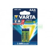 Akumulator AAA R03 800mAh NiMH 1.2V Varta Longlife Ready2Use 56703101402