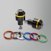Puig Aluminium Short with Rings Styrändar Svart