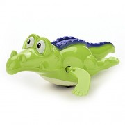 AST Works Funny Baby Crocodile Clockwork Wind up Swimming Pool Animal Floating Kids Toys