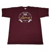 Ludwig Red Badge/Vintage Logo L T-Shirt