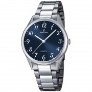 Reloj Festina F16875.2 - Plateado con Azul