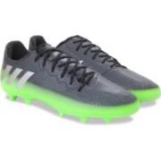 ADIDAS MESSI 16.2 FG Football Shoes For Men(Black, Green)