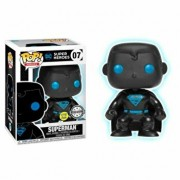 Figurina Funko Pop! Justice League - Superman Silhouette, fosforescent