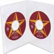 DVD-BOX 14 mm Двойна прозрачна за DVD