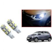 Auto Addict Car T10 9 SMD Headlight LED Bulb for Headlights Parking Light Number Plate Light Indicator Light For Hyundai Grand i10