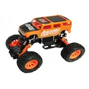 US1984 7 Inch 4WD Rally Cars Crawler Off Road Race Monster Truck, Metal Car, Big Rubber Tires, Metal Suspension (Multi Color)
