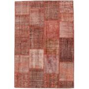 Handgeknüpft. Ursprung: Turkey Handgeknüpfter Teppich Patchwork 158X232 Braun/Hellbraun (Wolle, Türkei)