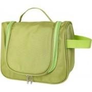 Swadec Cosmetic Hanging Bag Organizer TrToiletry Kit (Green) Travel Toiletry Kit(Green)
