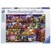 Ravensburger puzzle lumea cartilor, 2000 piese