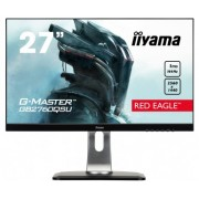 iiyama 27' Pro-Gaming, G-Master Red Eagle, 144Hz FreeSync, 2560x1440@144Hz, 350cd/m², >12mln:1 ACR, DVI , DisplayPort, HDMI, 13cm heigt adj. stand, Pivot, 1ms, USB-HUB (2x3.0), Black Tuner, Speakers