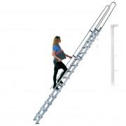 Facal S15/26 Regaleinhängeleiter ohne Traverse Aluminium S600 11 Stufen