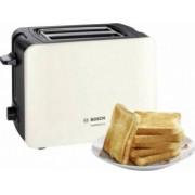 Prajitor de paine Bosch TAT6A117 1090 W 2 felii Selector alegerea gradului de prajire Functie dezghetare Crem