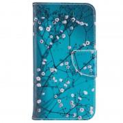Bolsa tipo Carteira Wonder Series para Samsung Galaxy Xcover 4s, Galaxy Xcover 4 - Flores Brancas