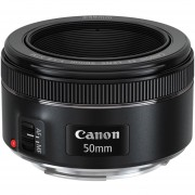Lente Canon EF 50mm f/1.8 STM - Negro
