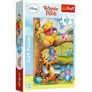 Puzzle Trefl 60 Winnie The Pooh Toti La Treaba