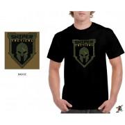 "Sniper Men ""Badge"" T-Shirt (Black)"