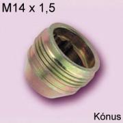 24018 - M14x1,5 - 60° - 22,7 mm - 19