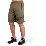 Gorilla Wear Branson Shorts - Zwart/Legergroen - 4XL