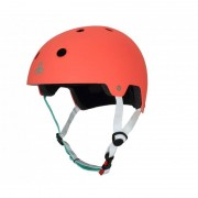 Triple Eight - Dual Certified with EPS Liner Tangerine - Helm